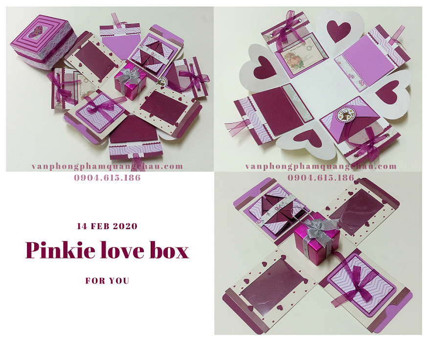 Lovebox Pinkie tông hồng_LB19