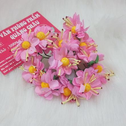 Cành hoa giấy có nụ 11 bông_HM16