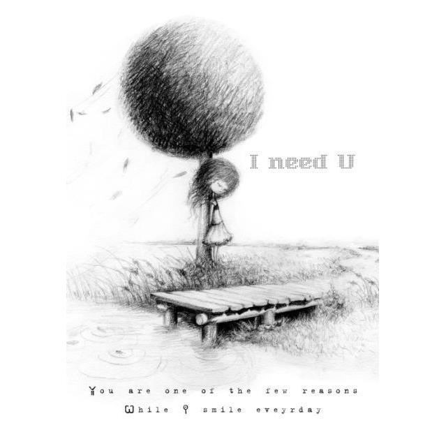 Thiệp I need You (10*15cm) - TH03