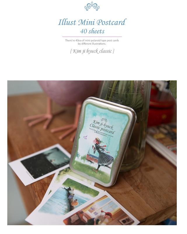 Hộp sắt Post Card Kim Jee_PC15