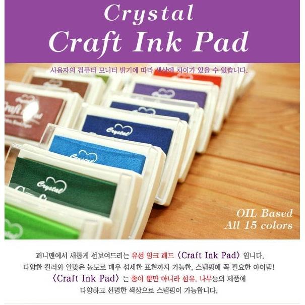 Mực in dấu vân tay funnyman ink pad loại to (30gr)_CD30