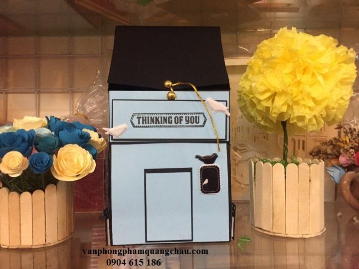 Hộp love box Ngôi nhà_LB01