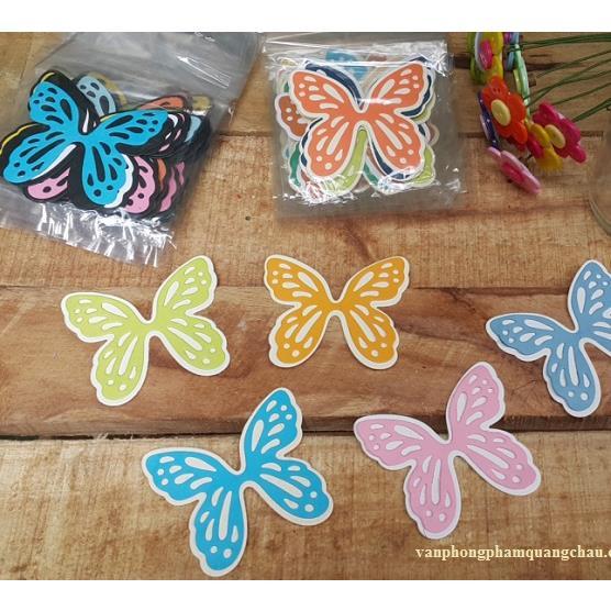 Túi bướm 2 lớp cánh thoải 6cm_HTT27