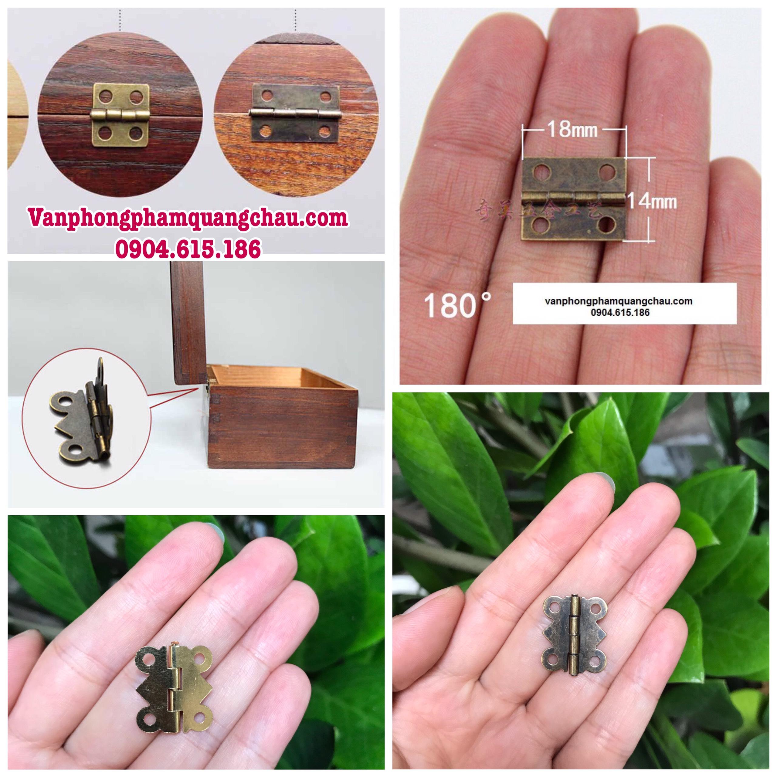 Bản lề mini cánh bướm (Set 10 chiếc)_PKM71