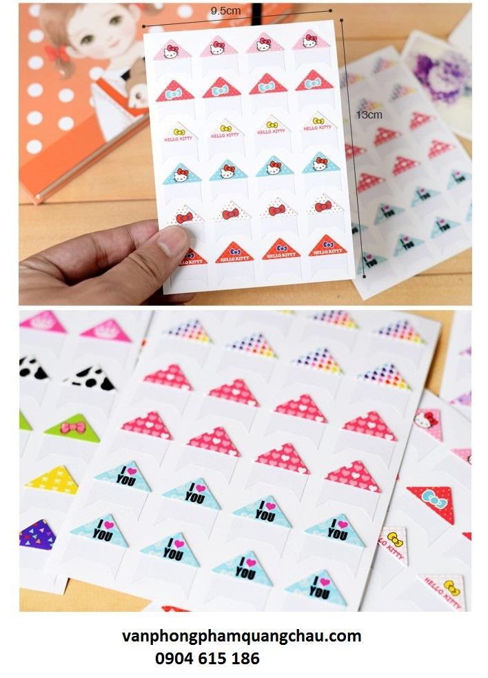 Sticker góc ảnh cute_S187