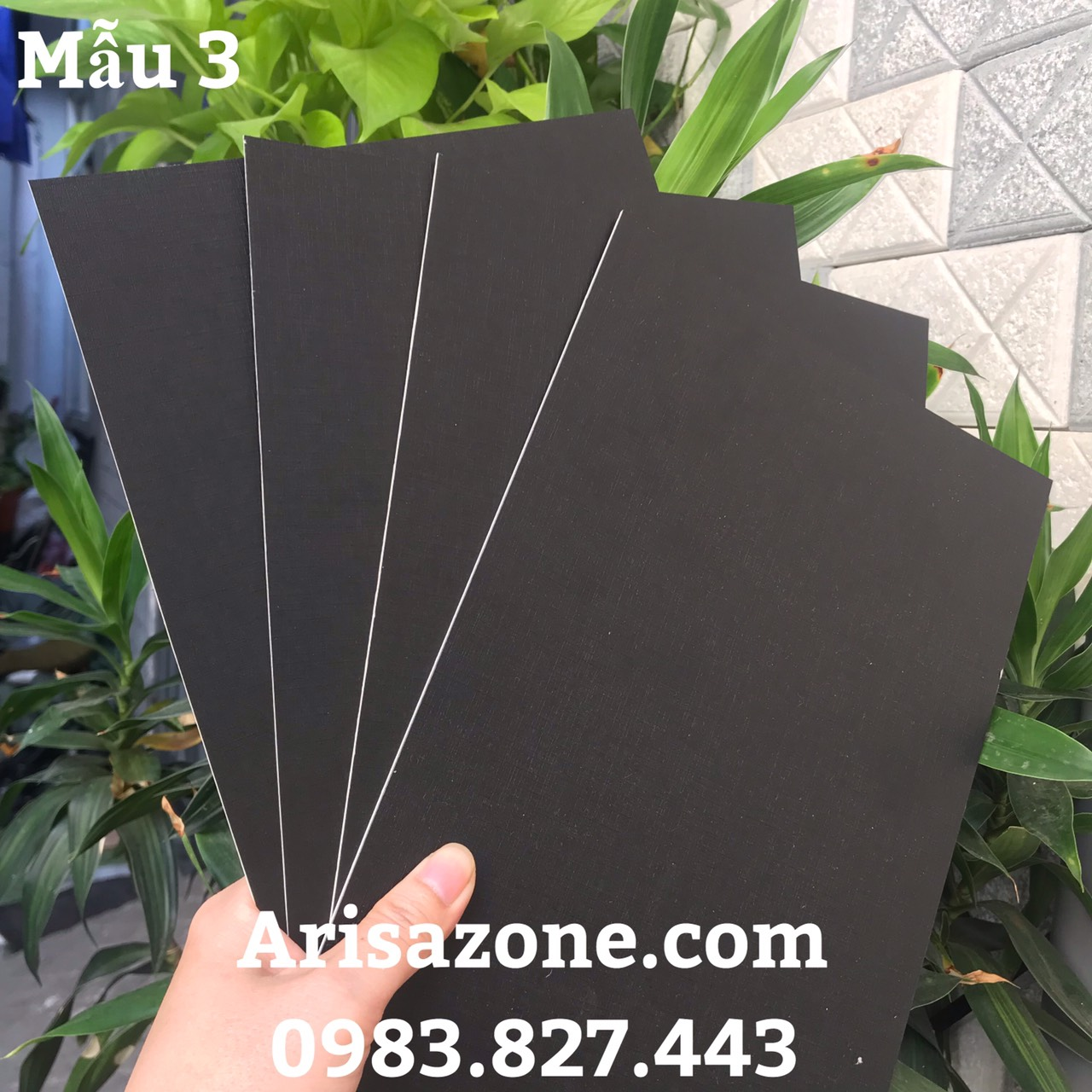 Bìa xốp làm bìa Scrapbook, bìa album (dày 1mm - Kích thước 19cm x 26,5cm) - Set 04 tấm_GHM46