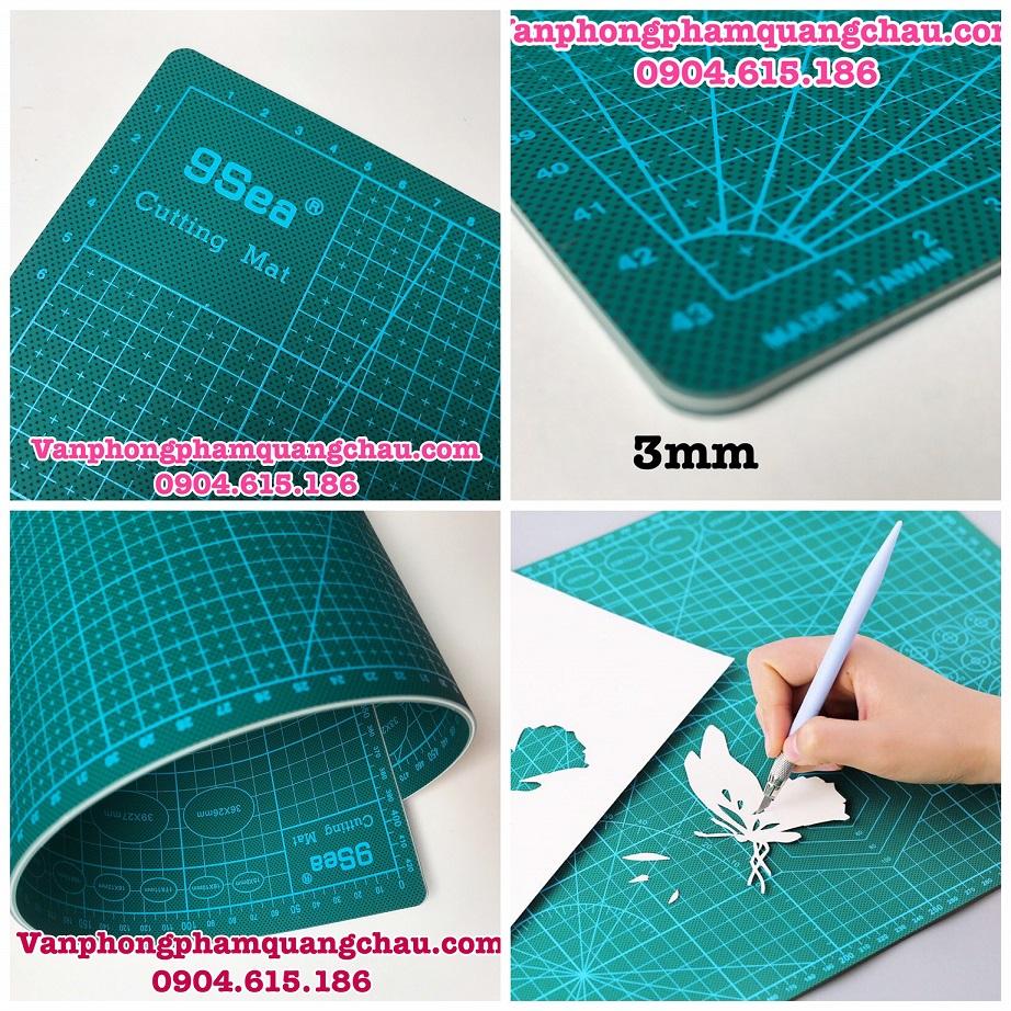 Bảng Cutting Mat 9sea - Size A1 (Hàng chất lượng tốt)_PKM67