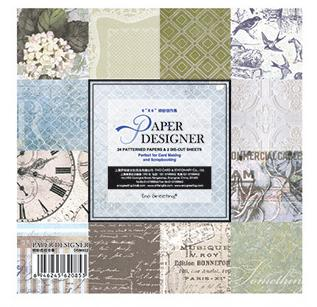 PAPER PACK - GIẤY SCRAPBOOK QUYỂN  6*6 inch_GHM90