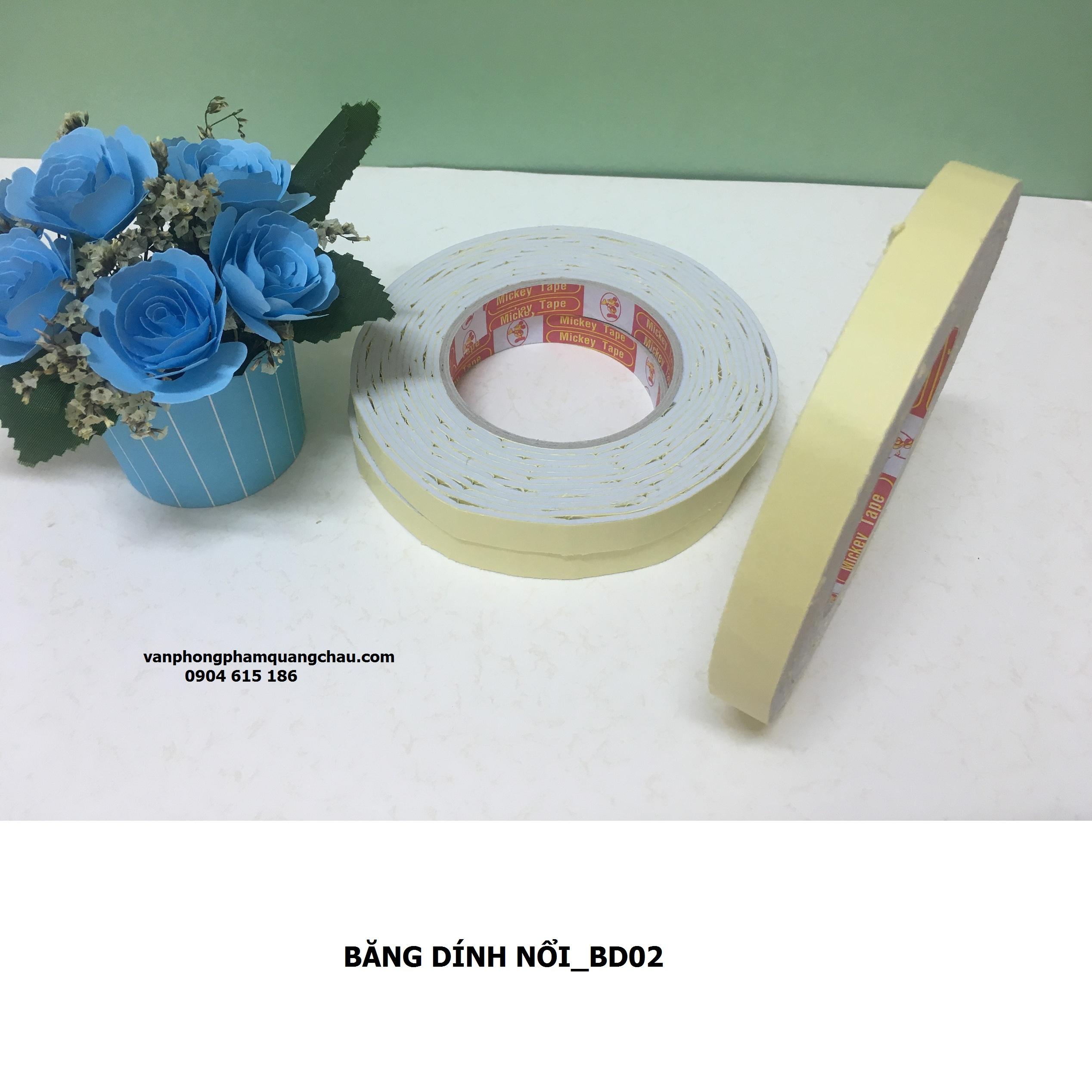 BĂNG DÍNH NỔI BẢN 1CM_BD04
