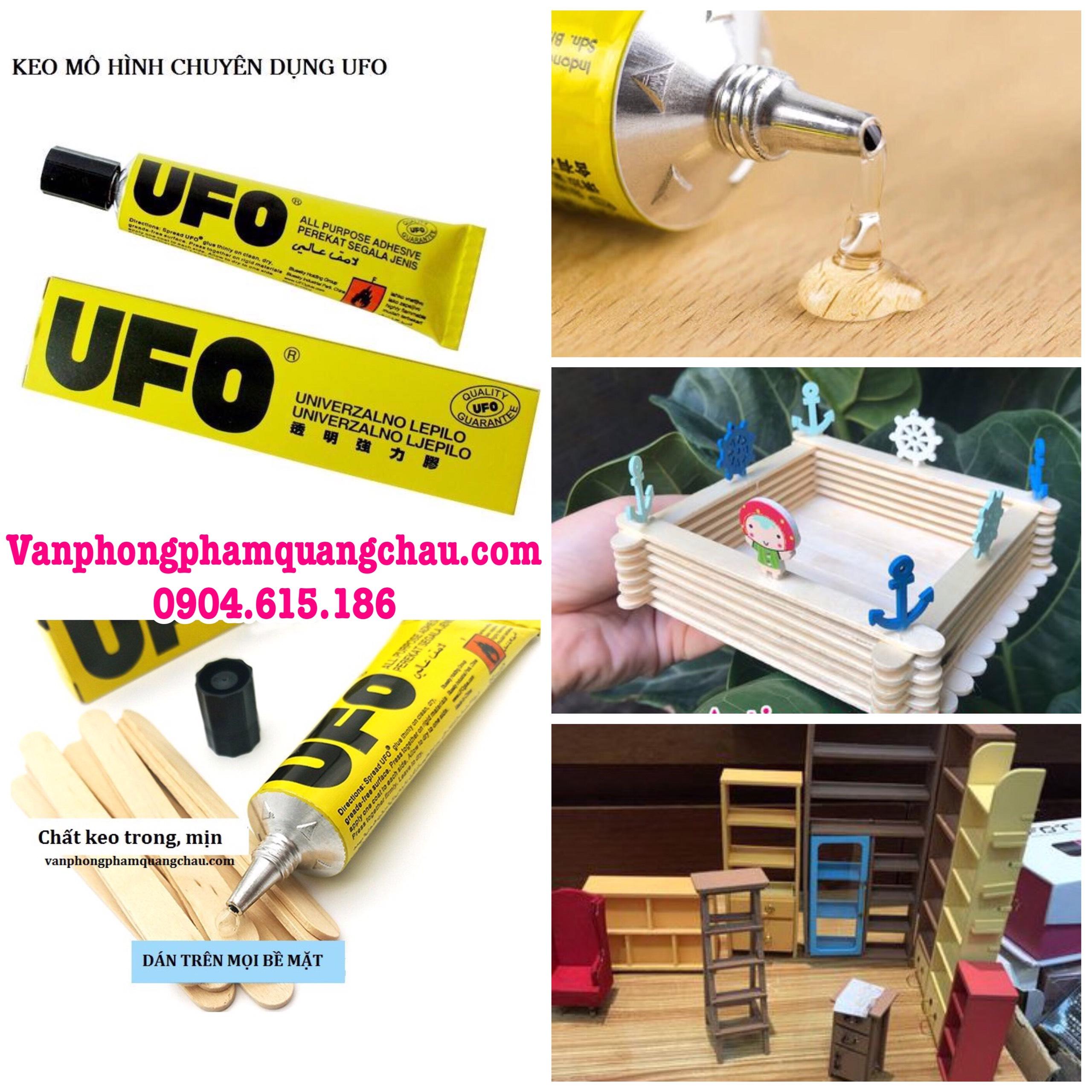 Keo UFO chuyên dụng dán mô hình gỗ (01 tuýp/35ml)_PKM35