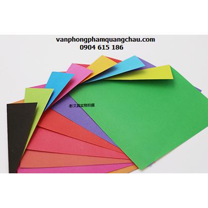 Giấy Origami 2 mặt 2 màu khác nhau - 23 tờ (size 15cmx15cm)_ORI07