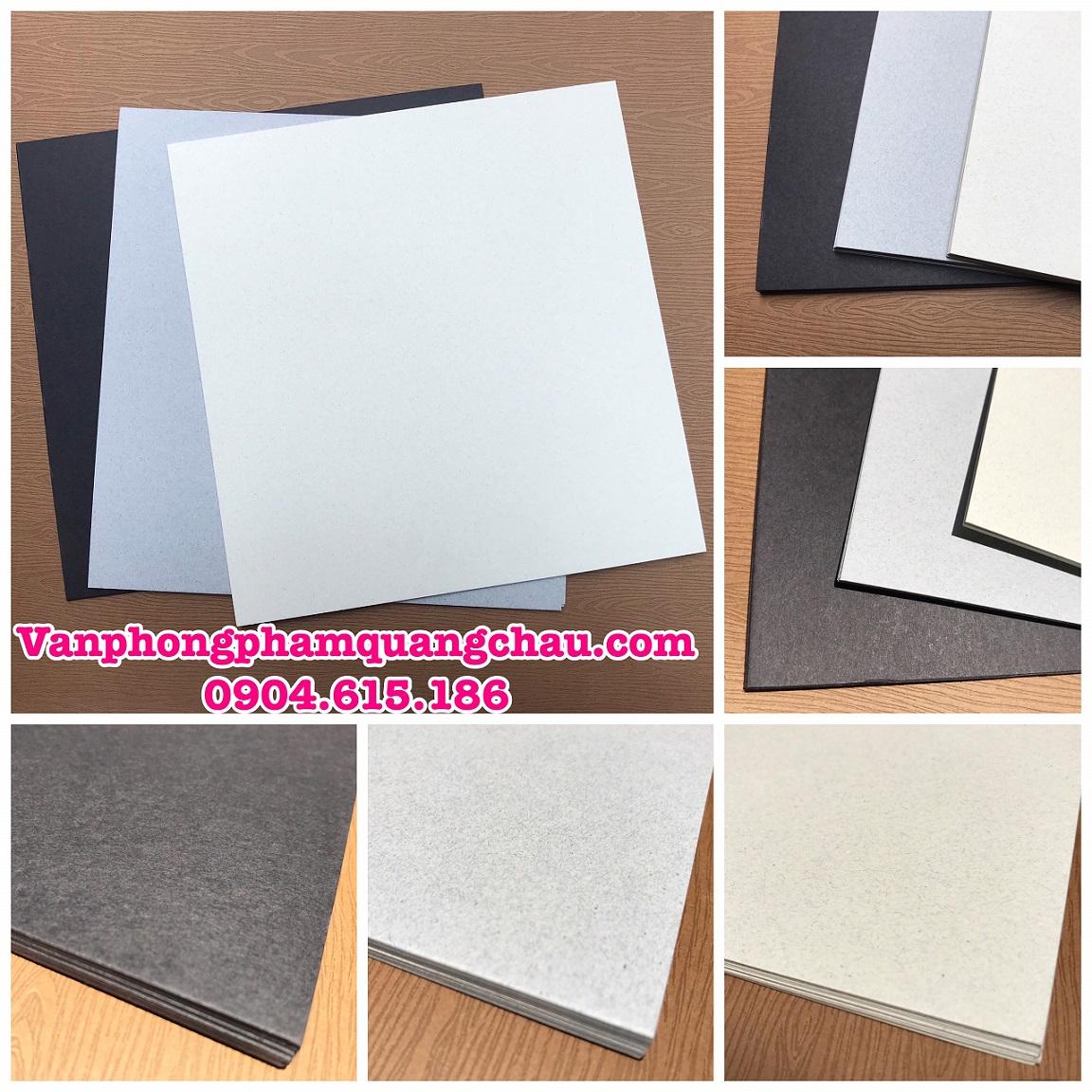Giấy bìa làm nền Scrapbook, Album - Định lượng 350gsm (KT: 25cm x 24cm) - Set 10 tờ_GHM118