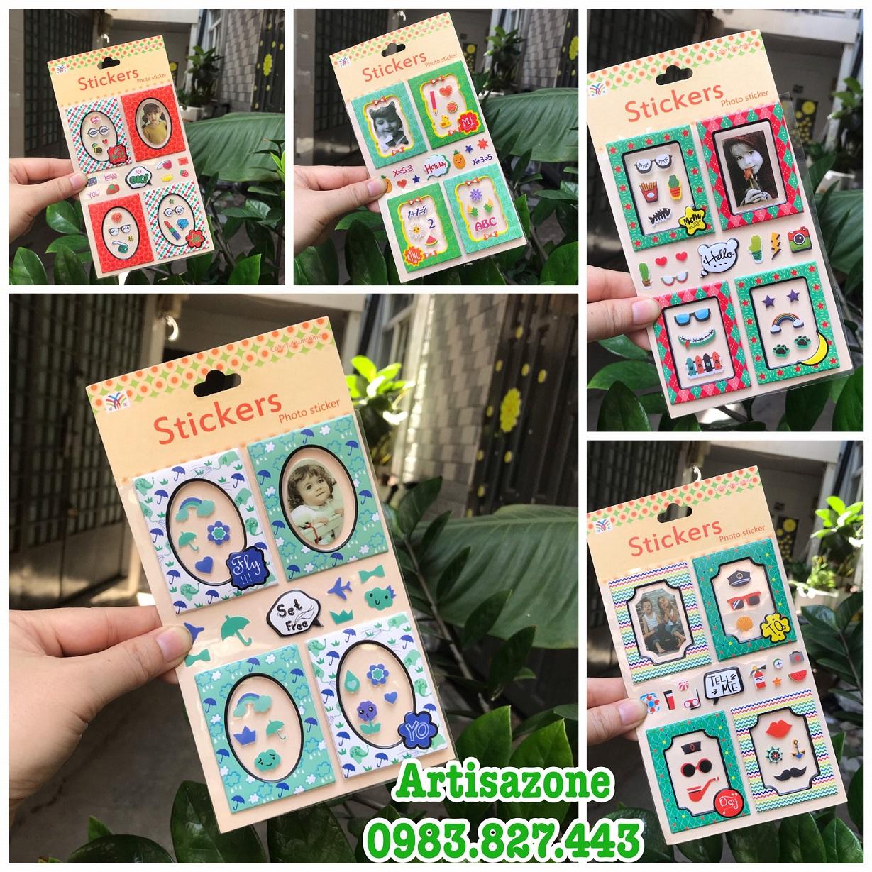 Sticker khung hình 3D_S172