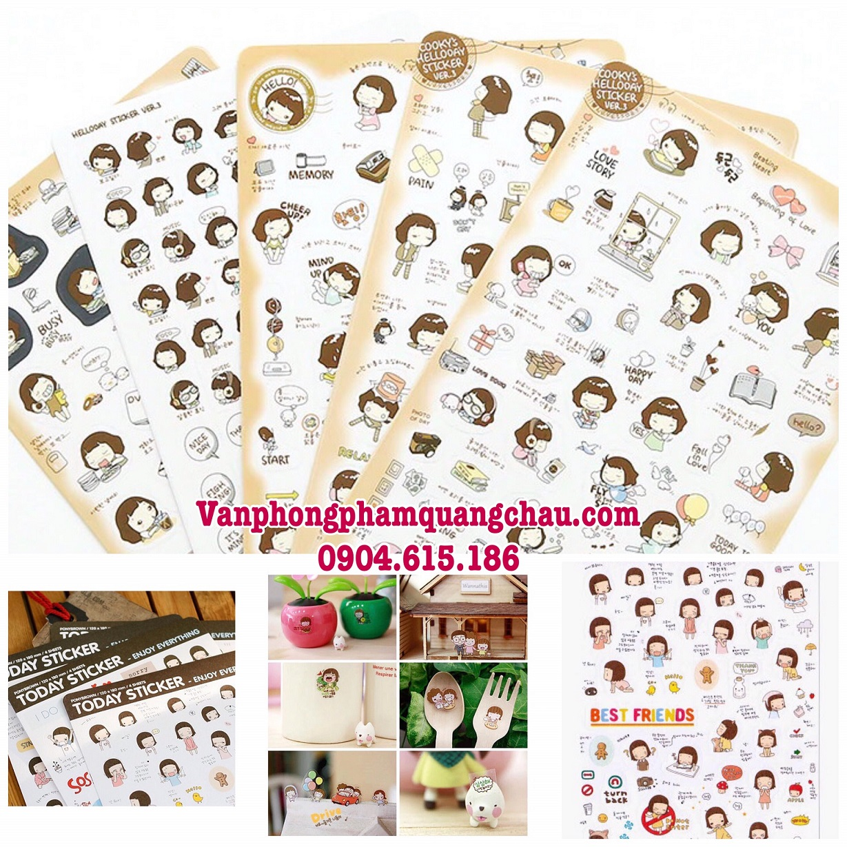 Sticker Today trang trí_S184
