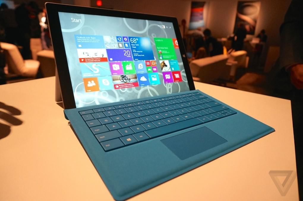 surface pro 3 ung dung nhieu
