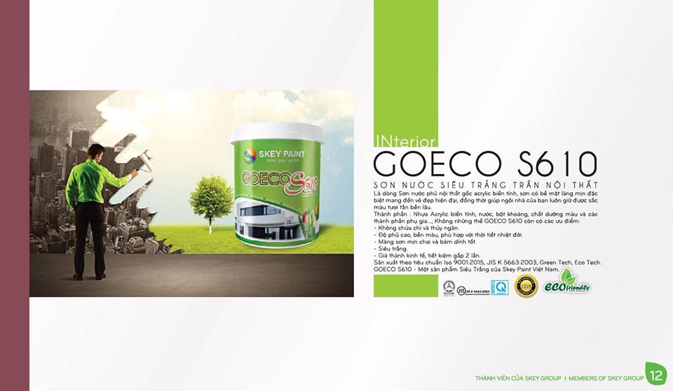 SƠN NỘI THẤT GOECO S610