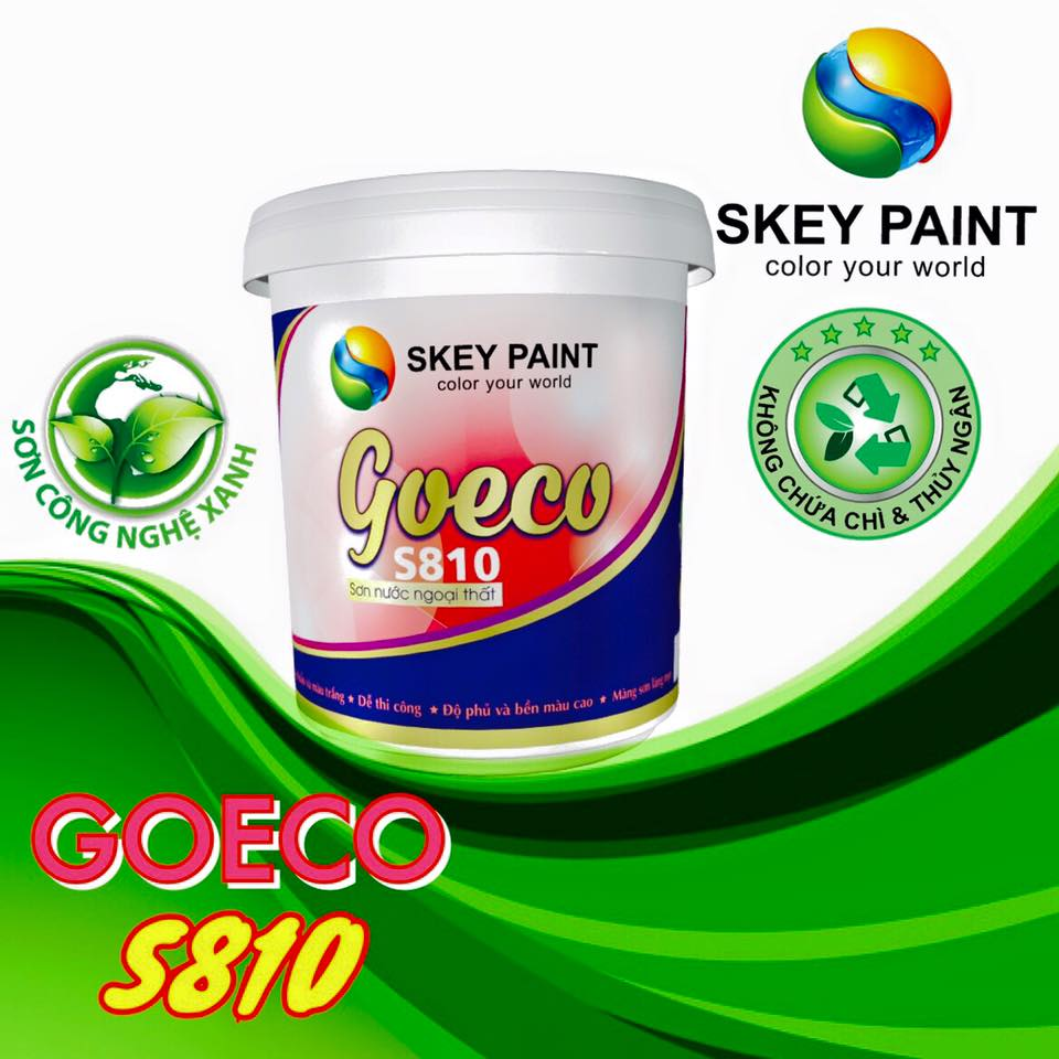 SƠN NGOẠI THẤT GOECO S810