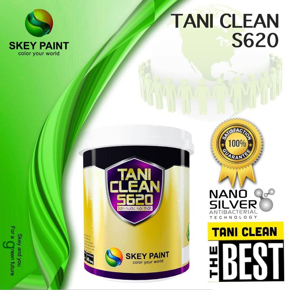 SƠN CAO CẤP NỘI THẤT TANI CLEAN S620