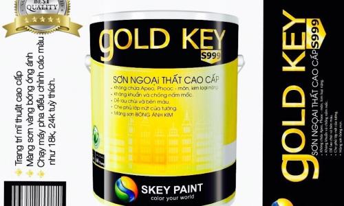 Sơn cao cấp Gold key S999