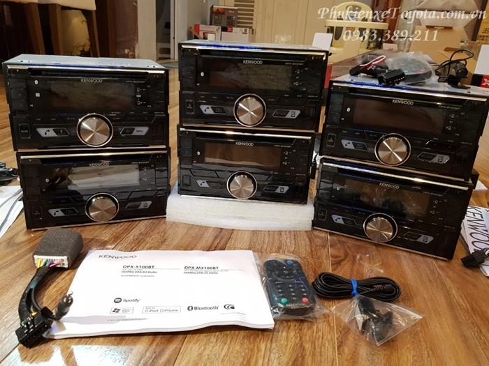 Đầu CD kenwood có 2 loại mã 5100BT và 5000BT