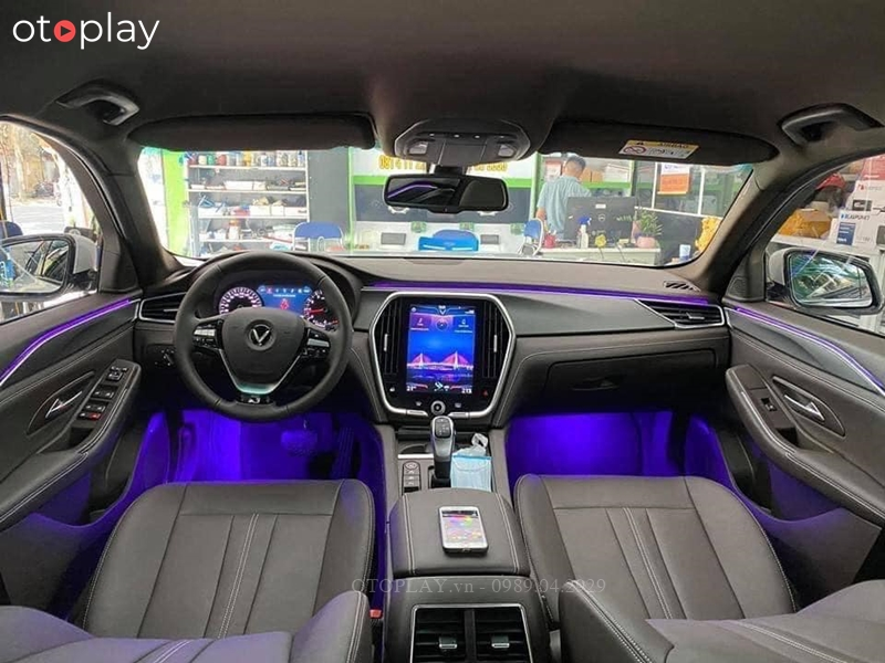 Led nội thất 64 màu Ambient Ligt cho xe hơi   OtoPlay - Phụ kiện đồ chơi ô tô