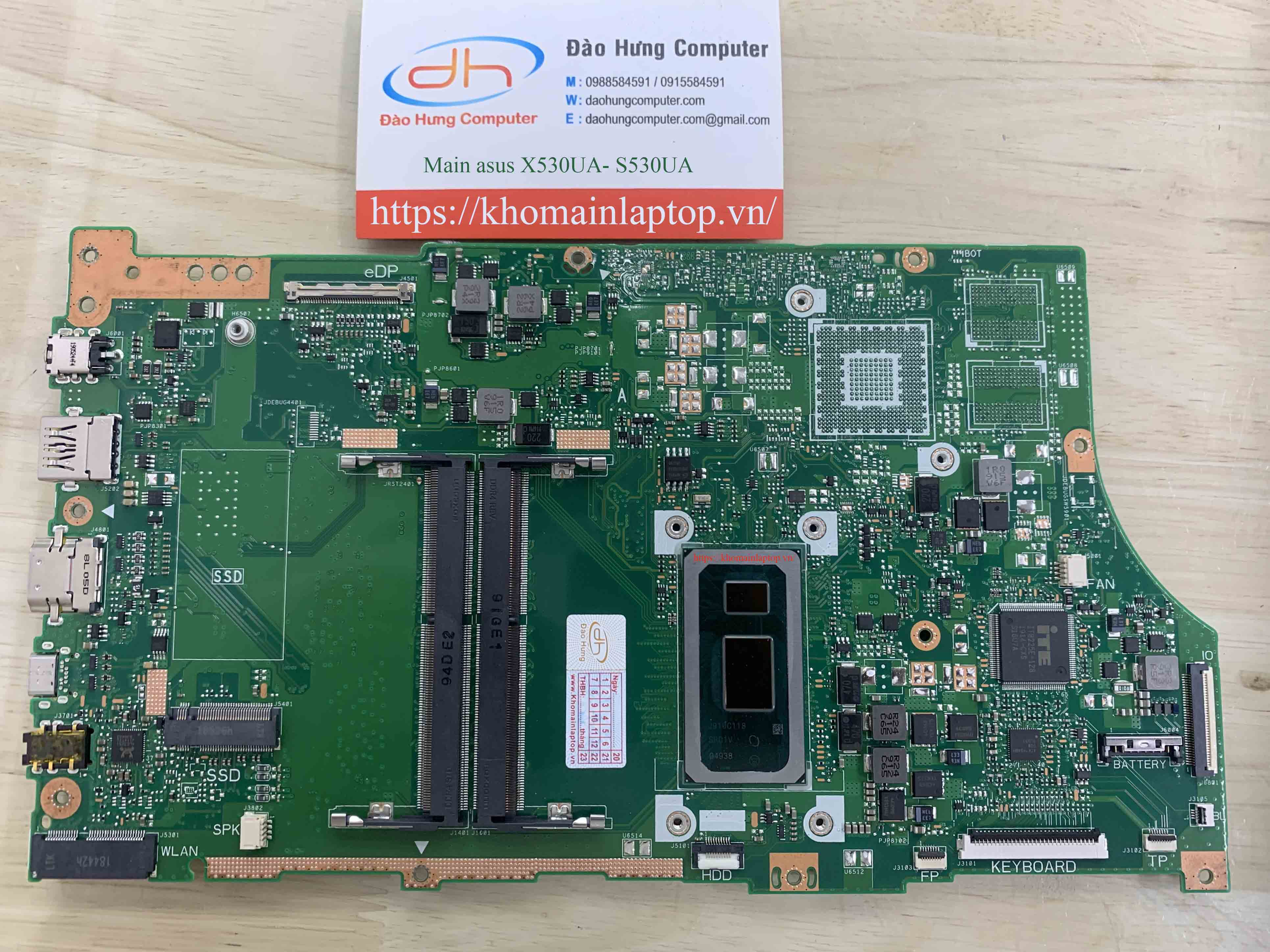 mainboard-asus-x530ua-core-i5-8250u-new