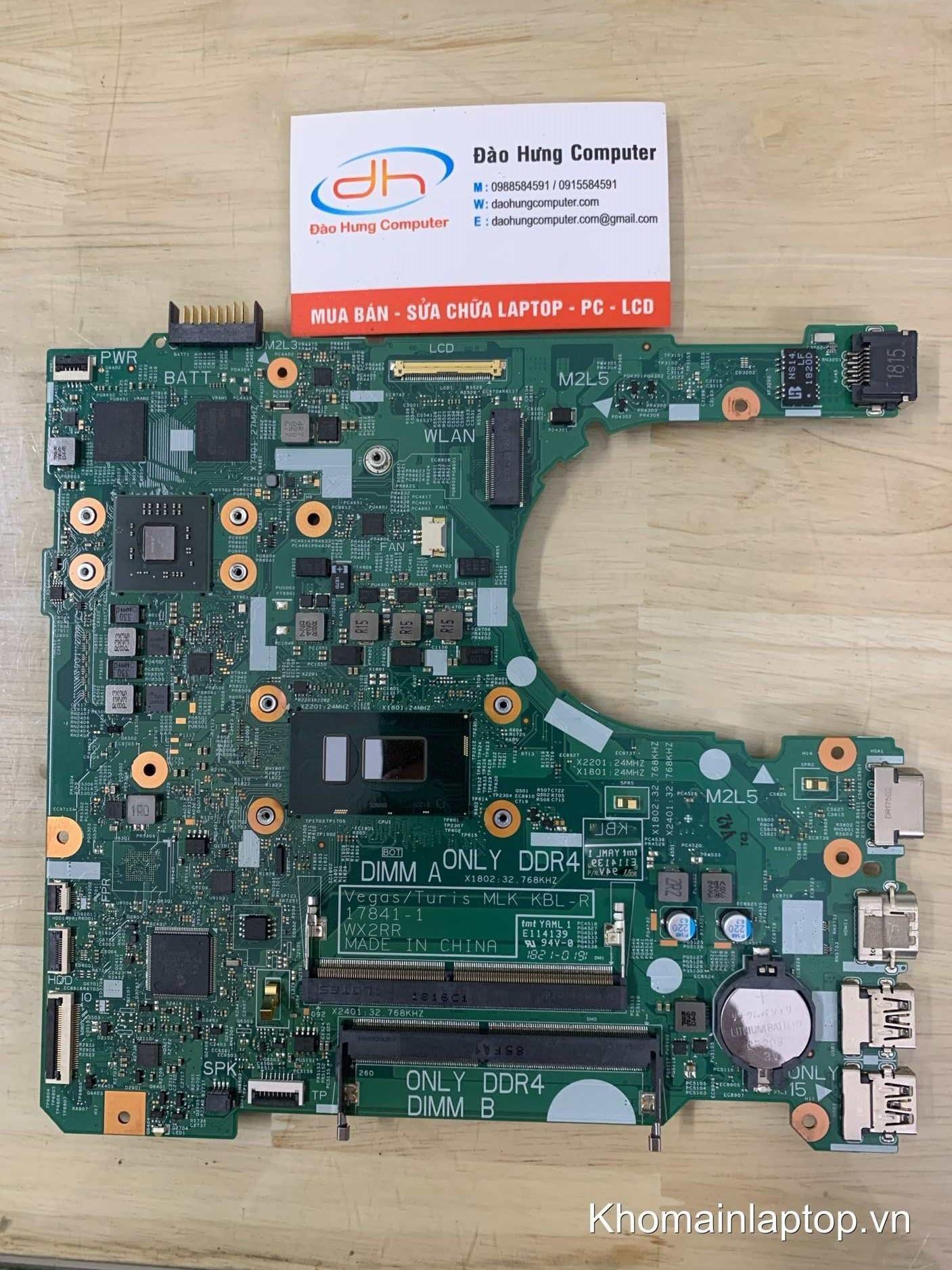 mainboard-dell-vostro-3578-core-i5-8250u