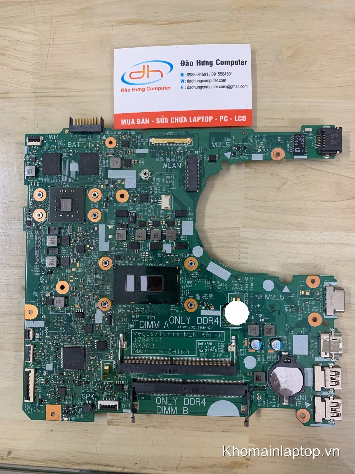 mainboard-dell-vostro-3578-core-i7-8550u