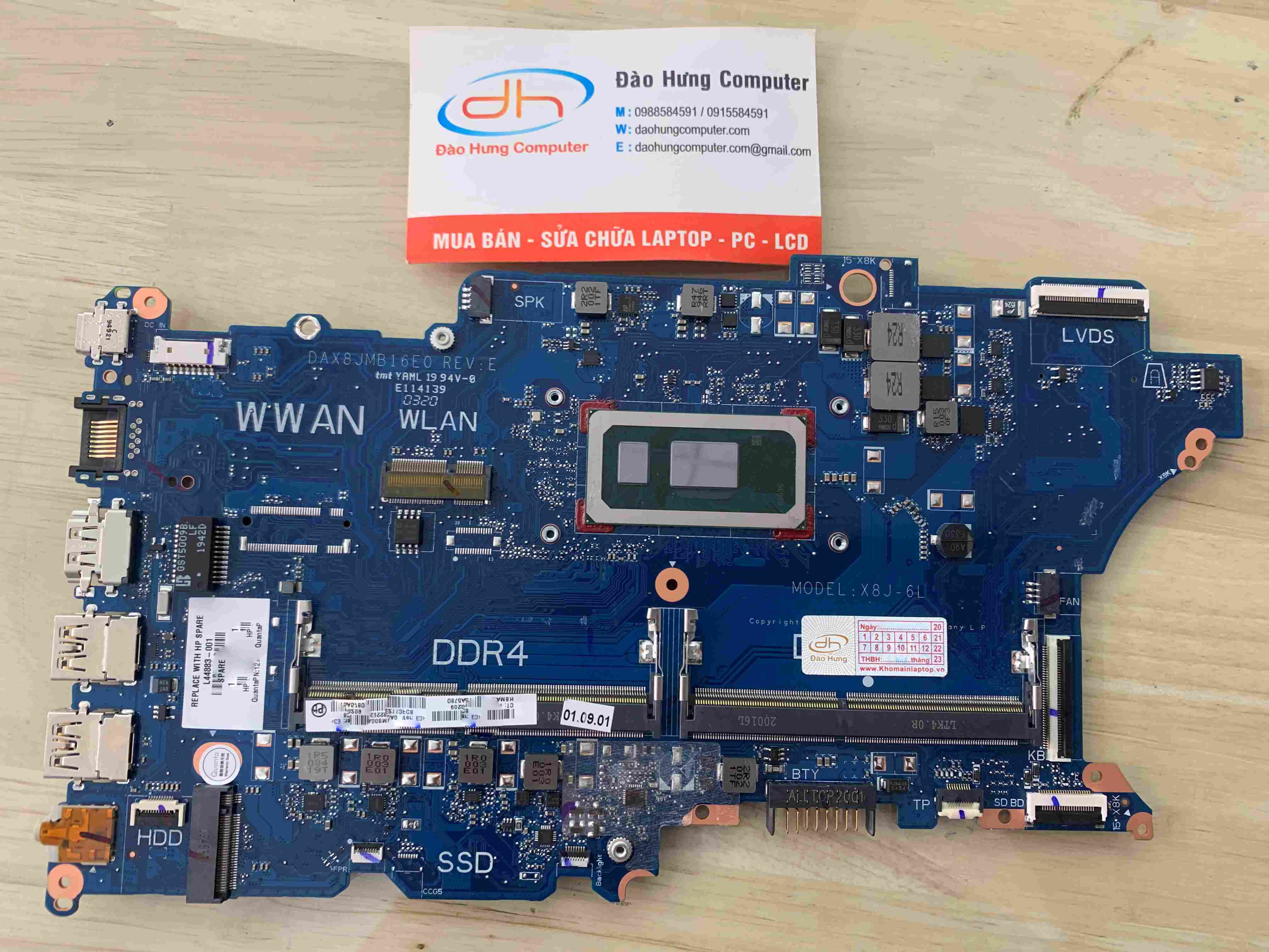 mainboard-440-g6-core-i5-8265u-new