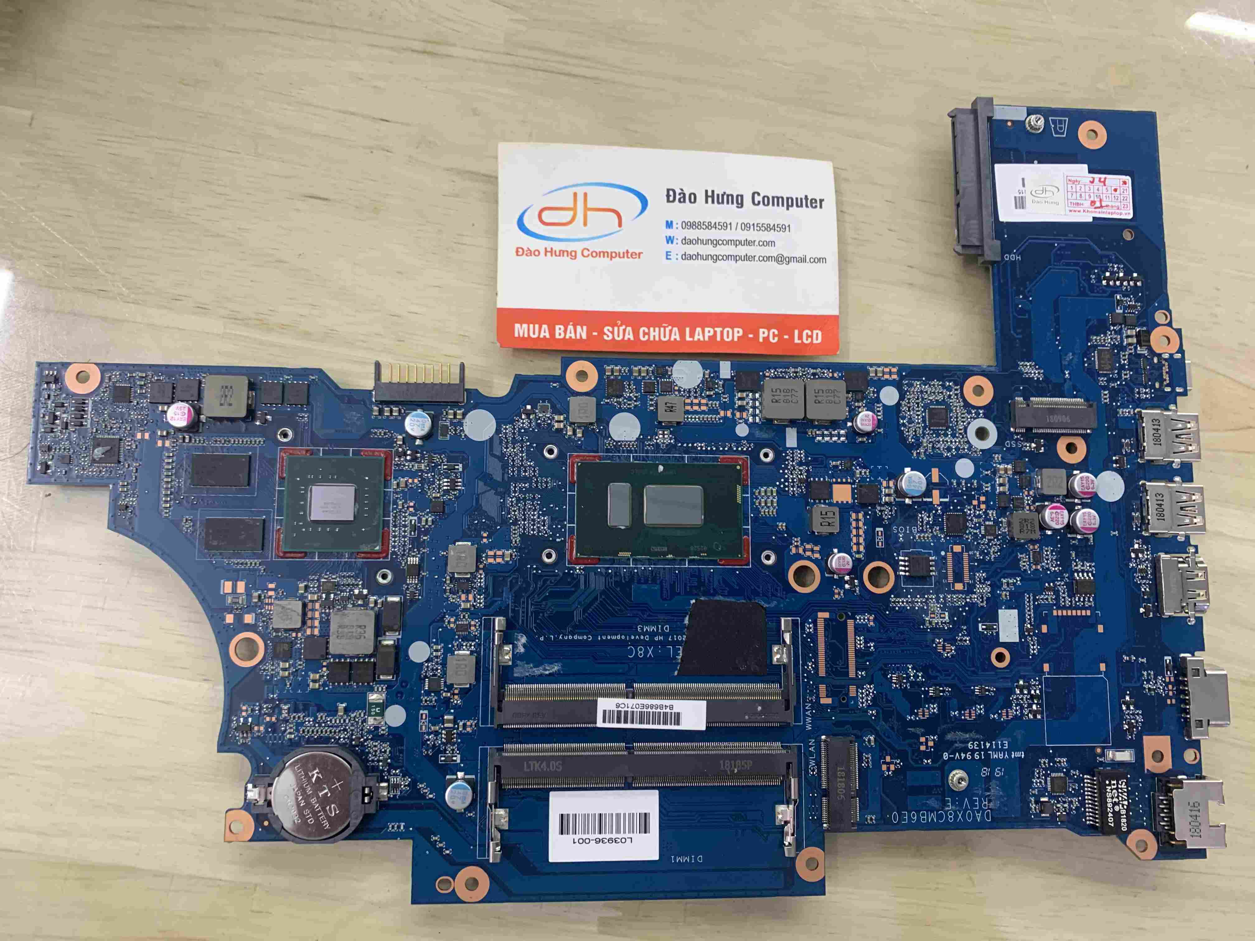 mainboard-hp-450-g5-intel-core-i5-8250u-new