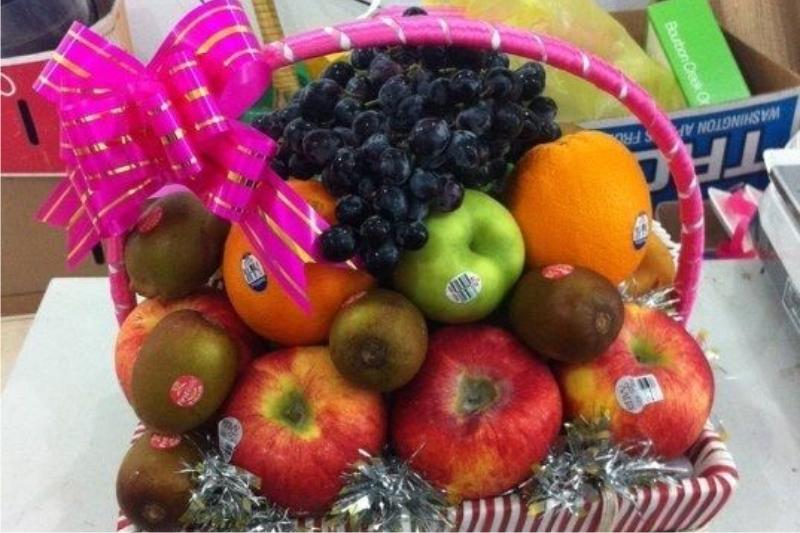 Giỏ quà trái cây nhập khẩu DPF3