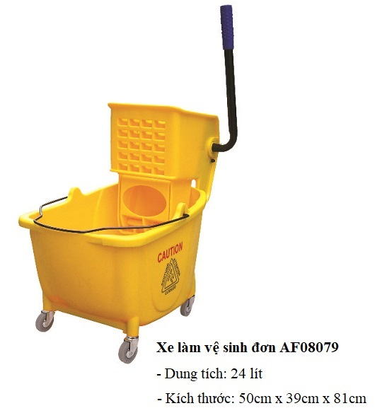 Xe vắt nước đơn lau sàn AF08079