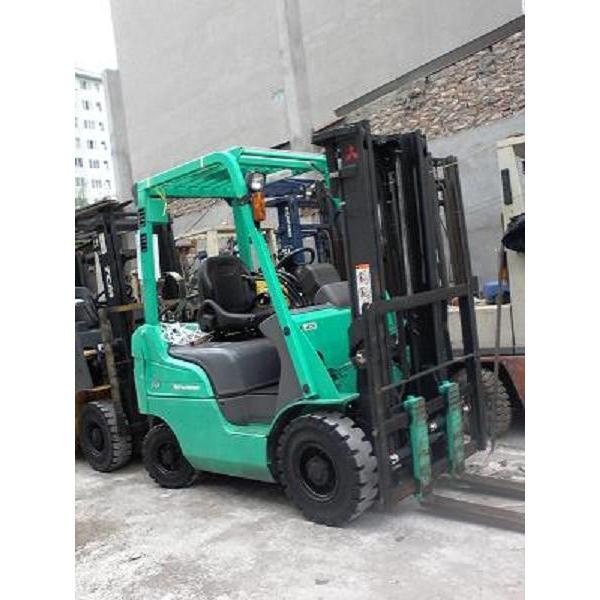 Xe nâng xăng & ga hiệu Mitsubishi tải trọng 1,5 tấn nâng cao 3m