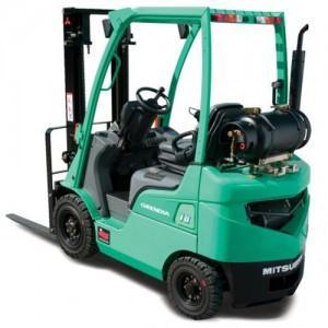 Xe nâng động cơ xăng 4 bánh ngồi lái (Mitsubishi Diesel forklift)