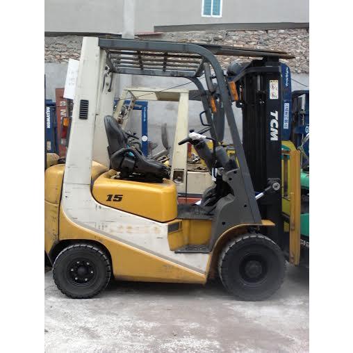 Xe nâng dầu TCM FD15T9H tải trọng 1,5T cao 3m
