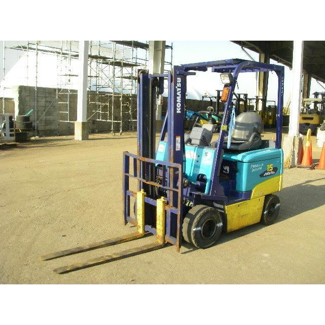 Xe nâng điện ngồi lái Komatsu FB15EX-10 (1500kg cao 3M)