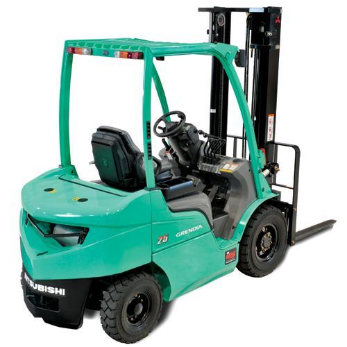 Xe nâng diesel tải trọng từ 1 tấn đến 3,5 tấn. Model: FD10~FD35