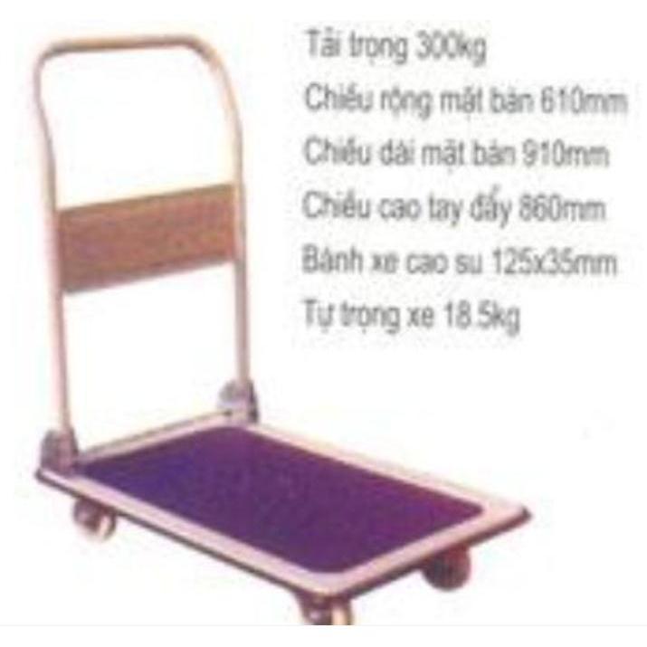 Xe đẩy bàn 300 kg modelt HT300
