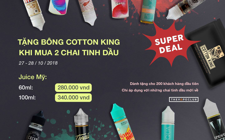 Super deal - Cơn mưa tinh dầu và quà tặng