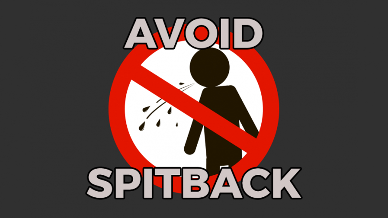 Các phương pháp tránh hiện tượng bắn tinh dầu khi hút