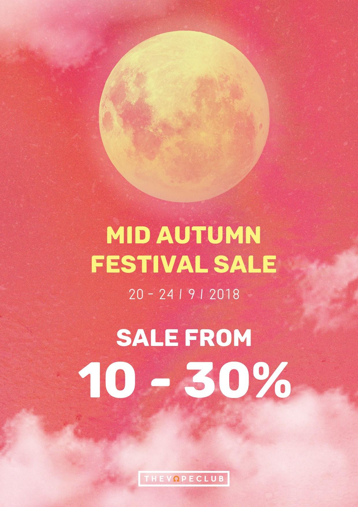 [Tin khuyến mại] Mid autumn festival sale 2018