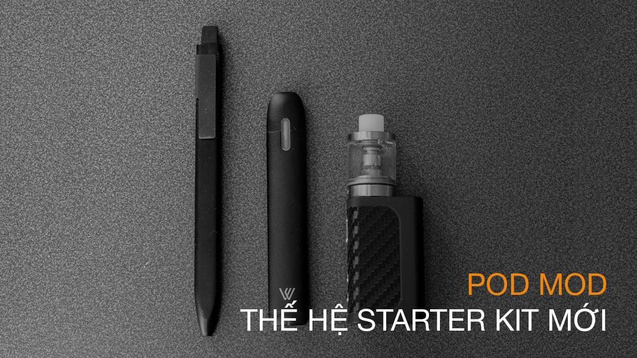 Pod Mod: Thế hệ starter kit mới | The Vape Blog The Vape