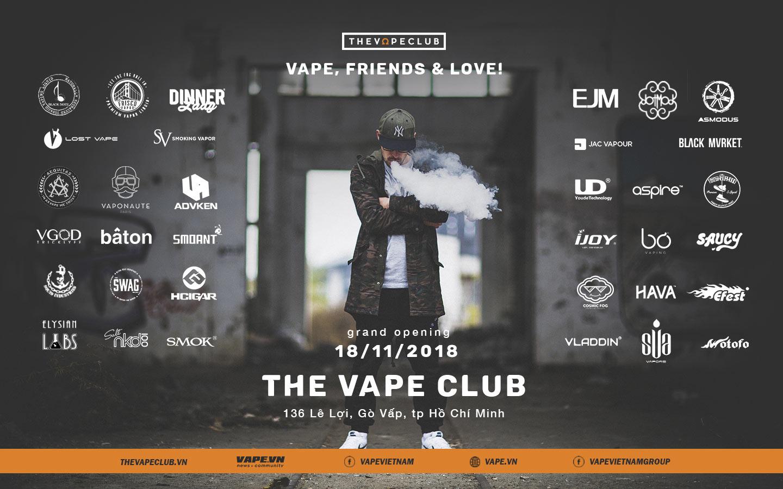 [Thư ngỏ] Ước mơ của The Vape Club tại Sài Gòn