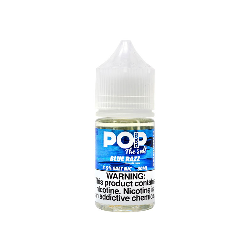 Blue Razz The Salt Nic by PoP Clouds (30ml) (Kem mâm xôi xanh)