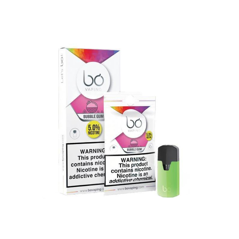 Bo caps Bubble Gum by Bo Vaping