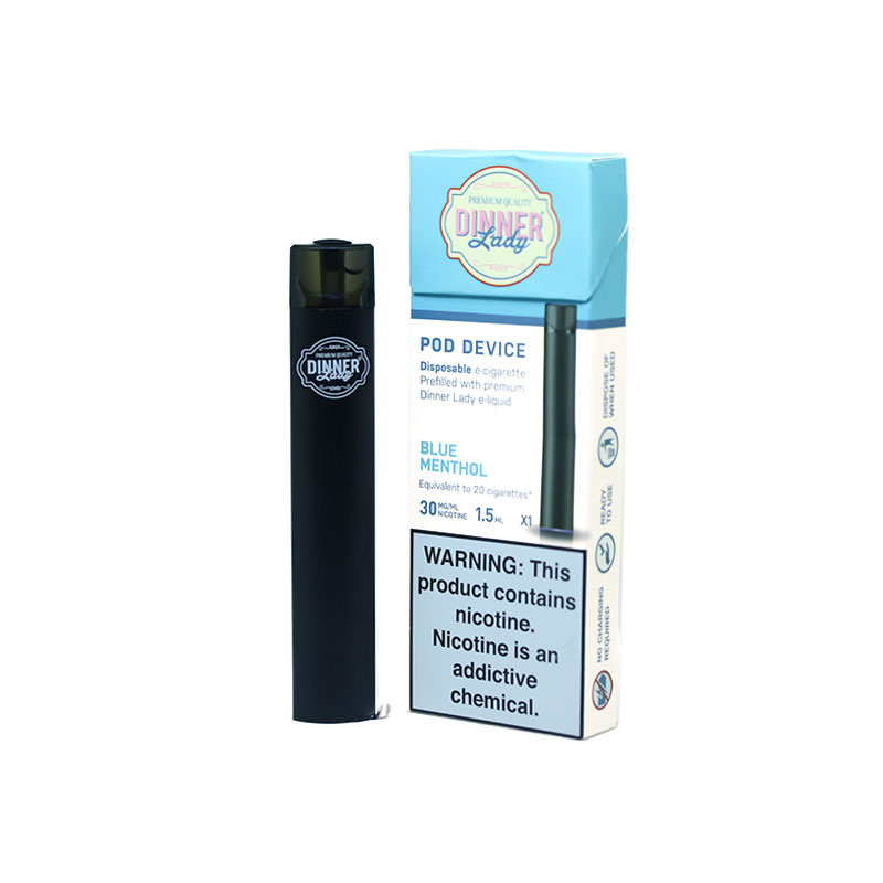 Dinner Lady Disposable Pod - Blue Menthol (1.5ml)