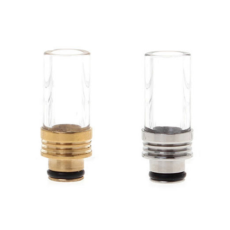 Driptip Glass Stainless Steel