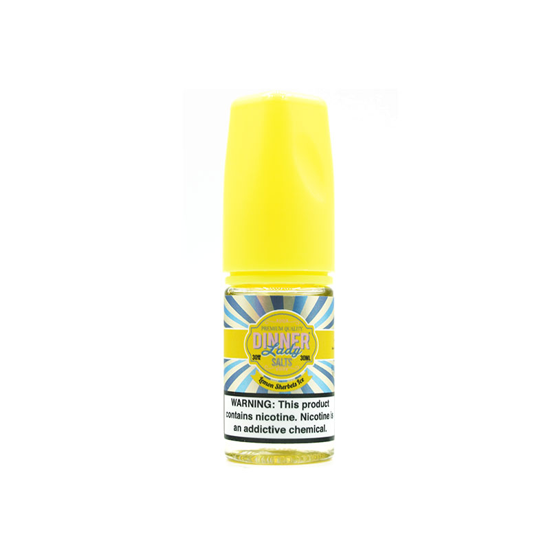 Lemon Sherbets Ice Salt Nic by Dinner Lady (30ml)(Kẹo chanh đá lạnh)
