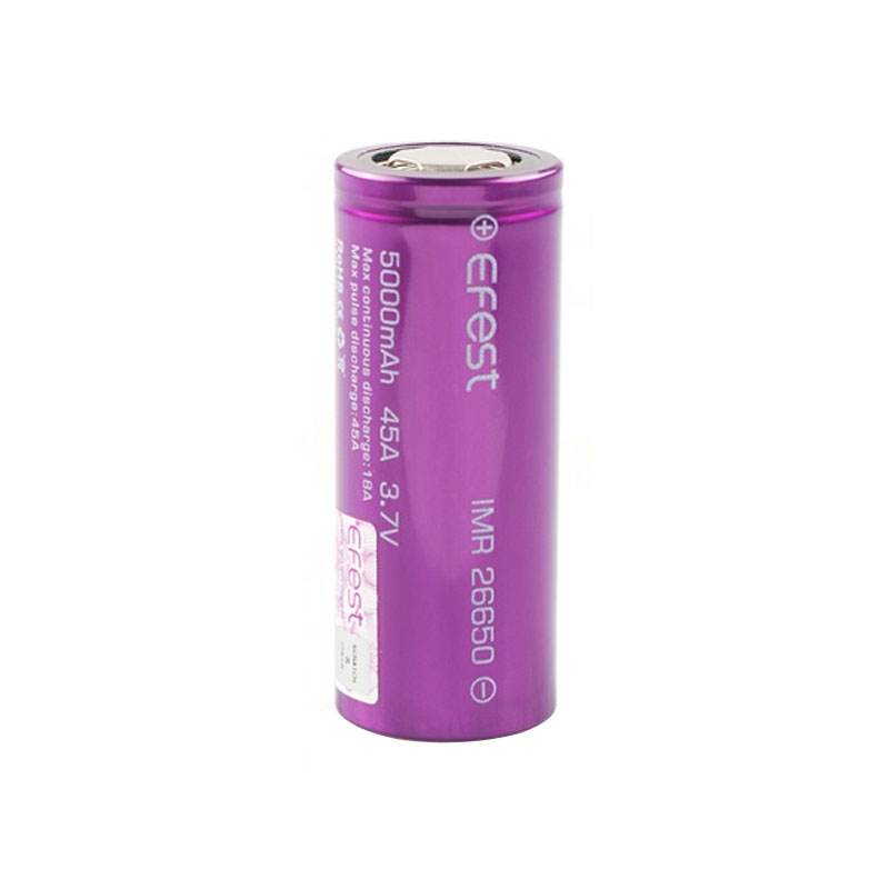Pin Efest 26650 5000mAh by Efest - 45A