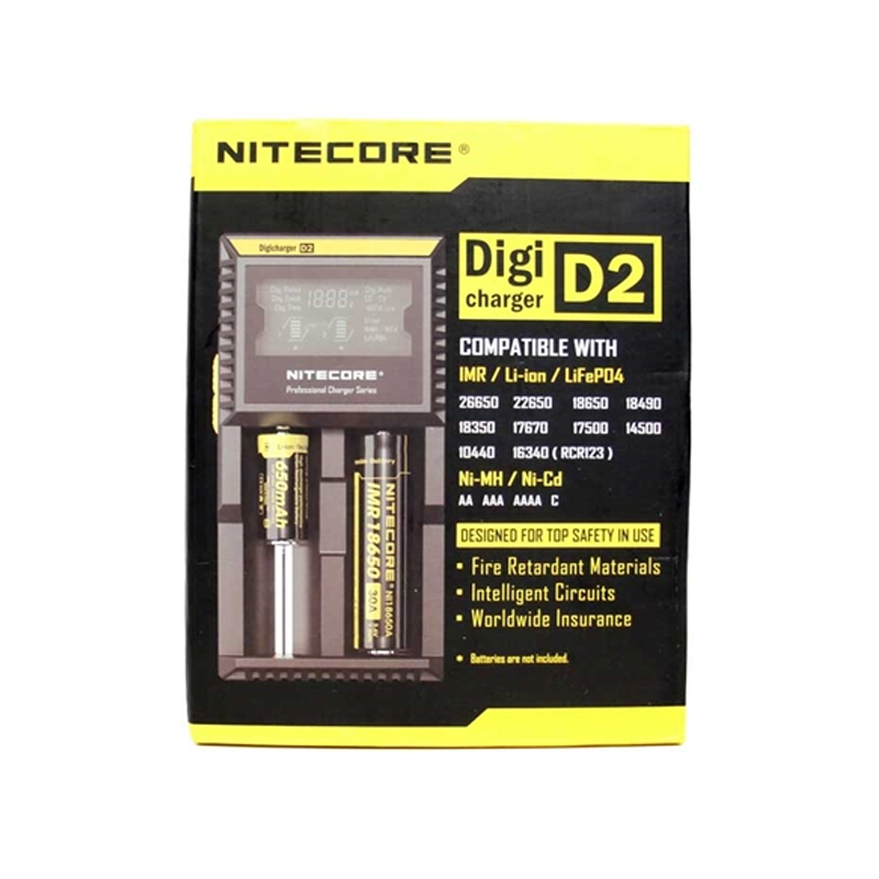 Sạc pin Digi D2 charger by Nitecore